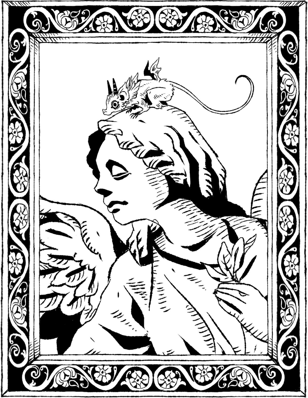 天使像とグレムリン